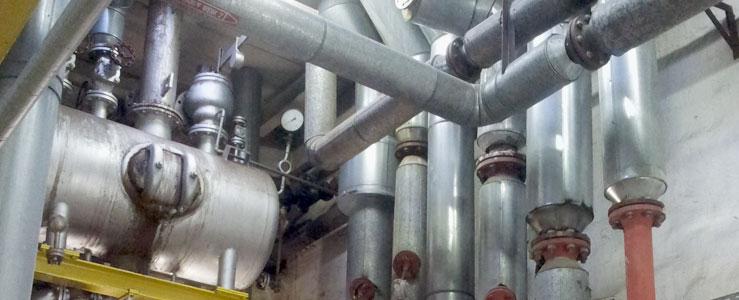 Fachgerechte Demontagen von zahlreichen Stahlbehältern, Stahlrohrkonstruktionen, Rohrbrücken, Rohrleitungen, Stahlrohren, Stahlkonstruktionen
