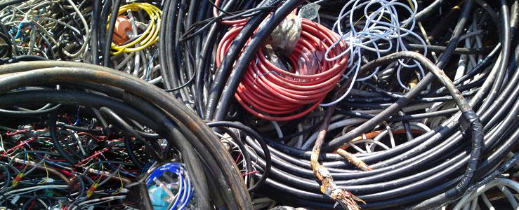 Kabelschrott und Kabelresten - Altkabeln